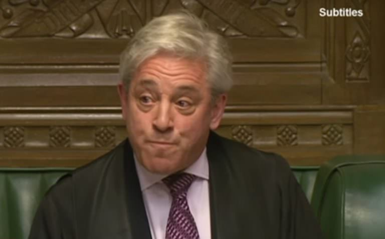 Truthdigger of the Week: John Bercow, Speaker of the U.K. House of Commons