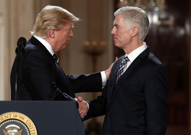 Will Neil Gorsuch Flip on Trump?