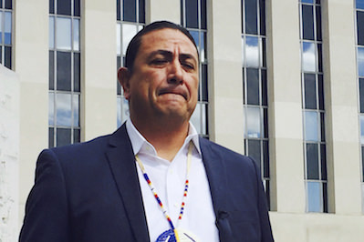 Truthdigger of the Week: Standing Rock Sioux Chairman David Archambault II