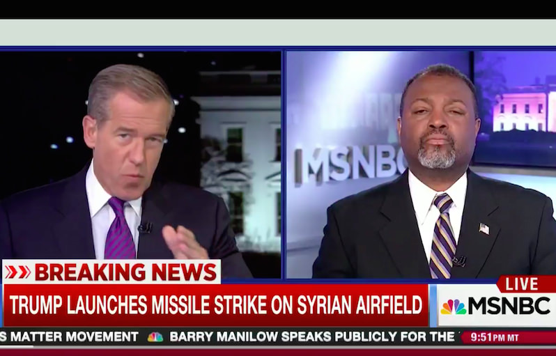 Corporate Media and D.C. Politicians Praise Trump's Syrian Airstrikes