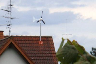 Wind Turbines Head for Home Again