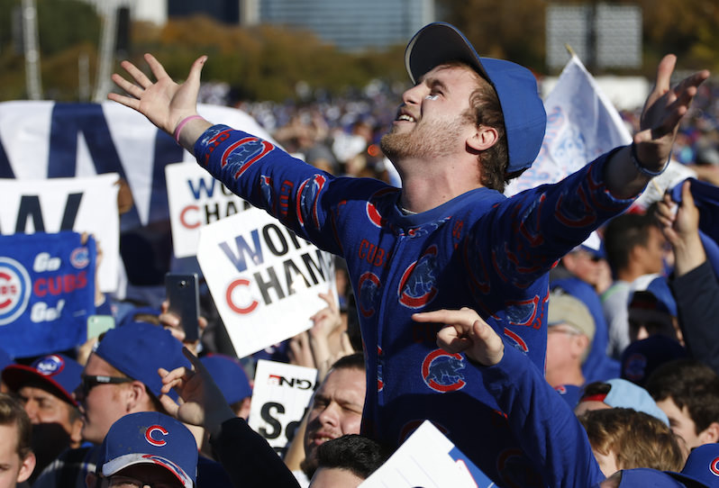 Cubs' New Curse: Being Winners