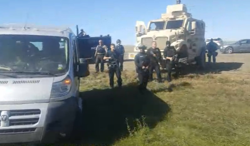 Tensions Over Dakota Access Pipeline Intensify in Wake of Police Raid