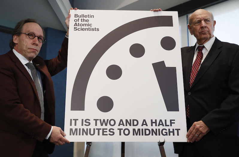 Noam Chomsky: Why Trump Is Pushing the Doomsday Clock to the Brink of Midnight