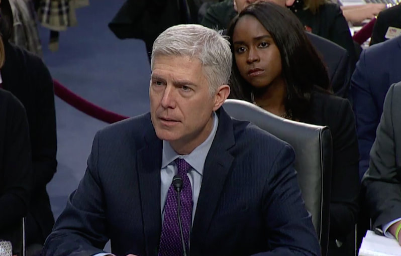Why Neil Gorsuch Is a Dream Choice for Right-Wingers
