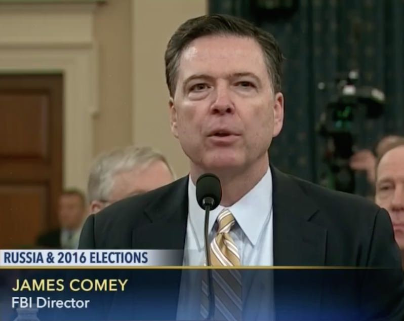 Director James Comey Confirms FBI Is Investigating Possible Links Between Trump Campaign and Russia