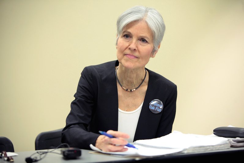 Green Party's Jill Stein Sues Wisconsin Over Recount Method