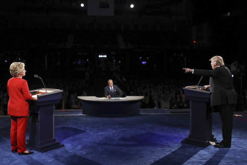 Lester Holt's Big Lie About the Commission on Presidential Debates Is a Problem in U.S. Politics