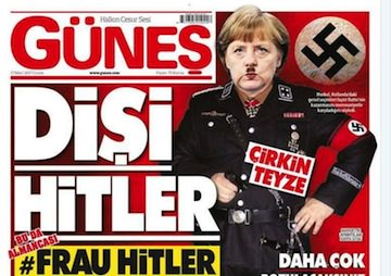 Erdogan Hurls 'Nazi' Epithets as He Campaigns to Bolster His Power