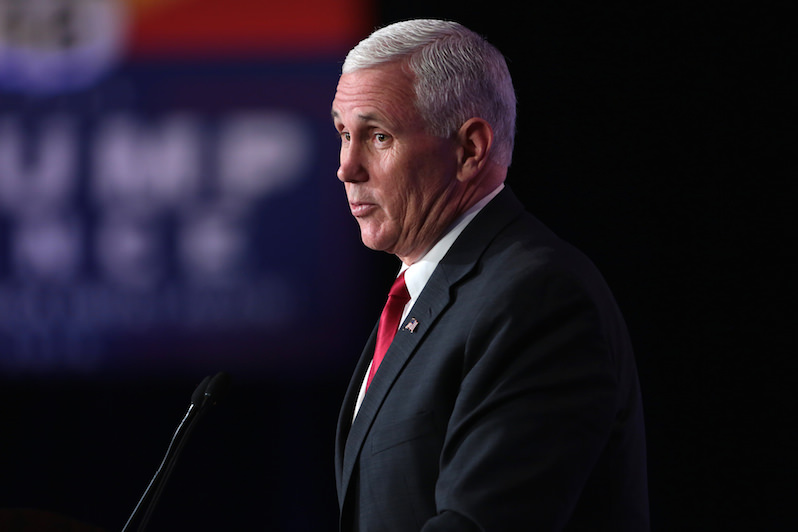 Mike Pence Used Private Email for State Business and Was Hacked When He Was a Governor