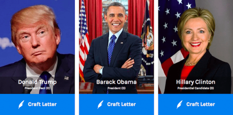 'MyLetter.to' Makes It Easy to Contact Elected Officials