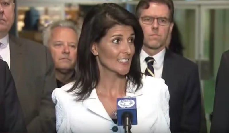 U.N. Envoy Nikki Haley's Tough Stance on International Relations: 'There's a New Sheriff in Town'