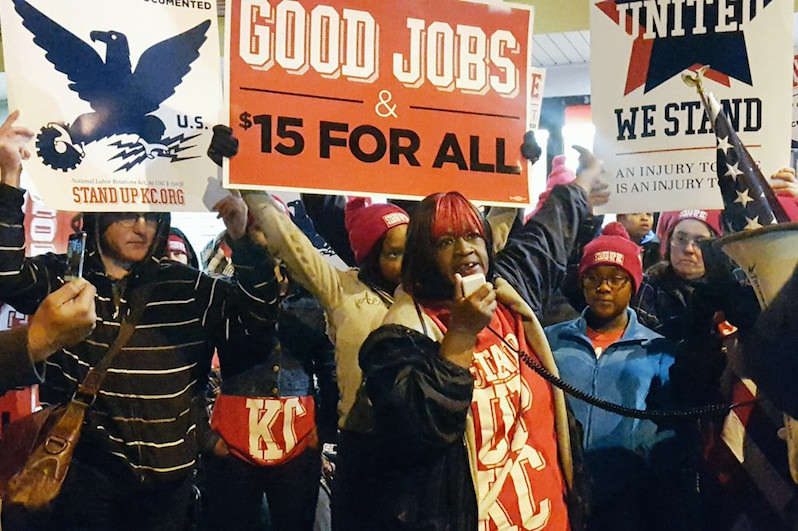Despite Hundreds of Arrests, Striking Workers Remain Undaunted in Fight for $15 Minimum Wage