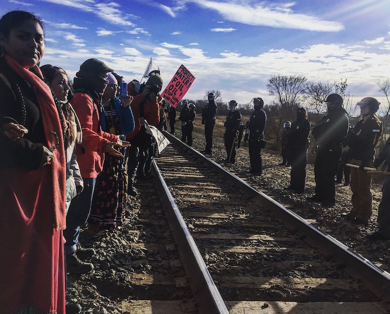 The Water Protector Movement
