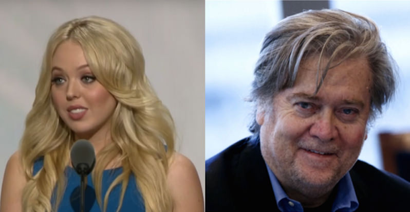 Top Trump Adviser Stephen Bannon and Tiffany Trump Are Registered to Vote in Two States