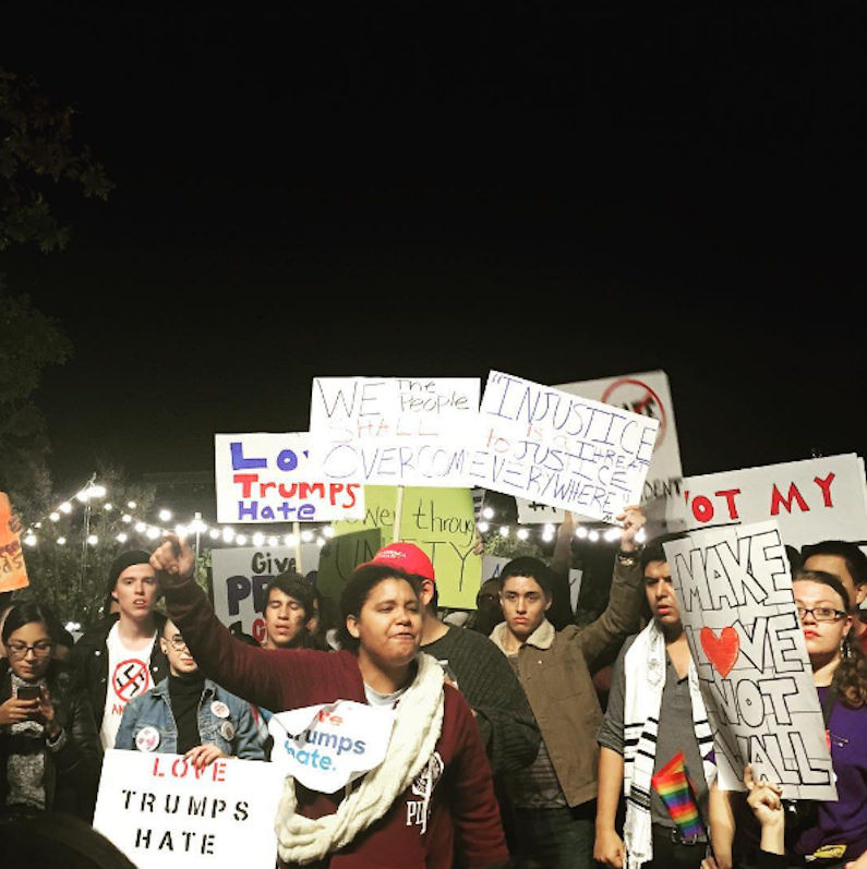 Truthdigger of the Week: The Thousands Who Are Peacefully Protesting Trump's Election