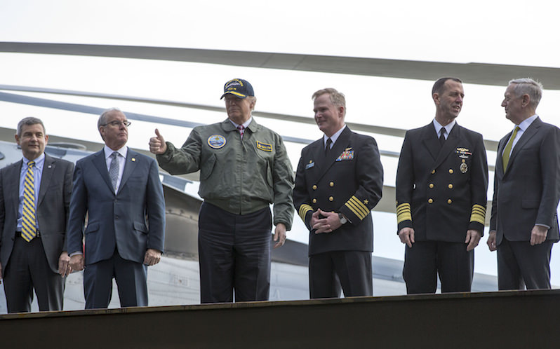 Trump's Military Nostalgia (or 'Victory at Sea' All Over Again)