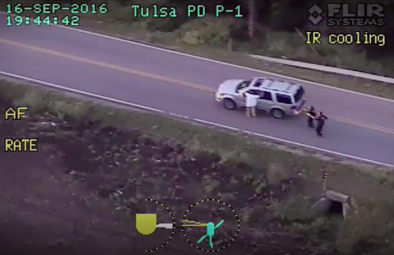 Footage in Oklahoma Police Shooting Prompts Nationwide Outrage