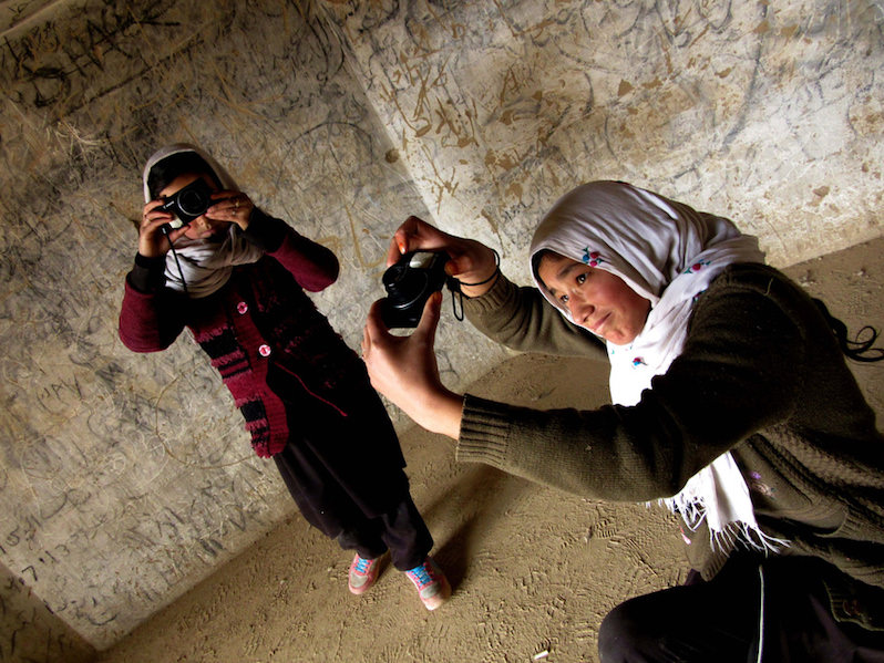 Young Afghan Girls Share Their World Through Photography