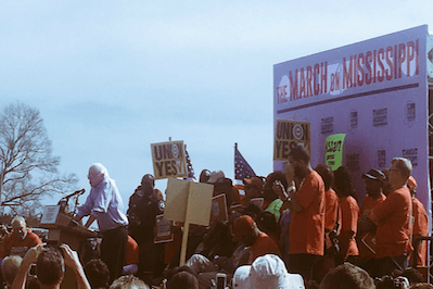 Bernie Sanders and Civil Rights Leaders Demand Workers' Rights at Nissan Factory
