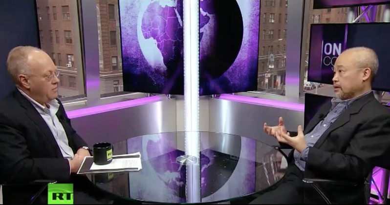 Chris Hedges and Poet Linh Dinh on the 'Irrevocable Decline of the American Empire' (Video)
