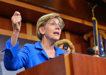 Elizabeth Warren Sends Letter to Trump: 'You Already Appear to Be Failing' on Campaign Promises
