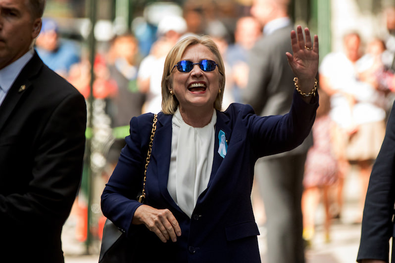 'Overheated' Hillary Clinton Leaves 9/11 Event Early, Reportedly Has Pneumonia (Video)