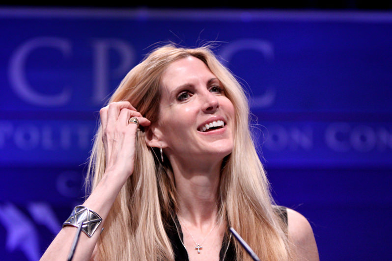 Dear Ann Coulter: Ben Franklin Wouldn't Have Thought of You or Trump as White, Either