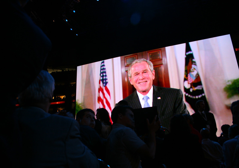 How George W. Bush Dissed the U.S. Intelligence Community