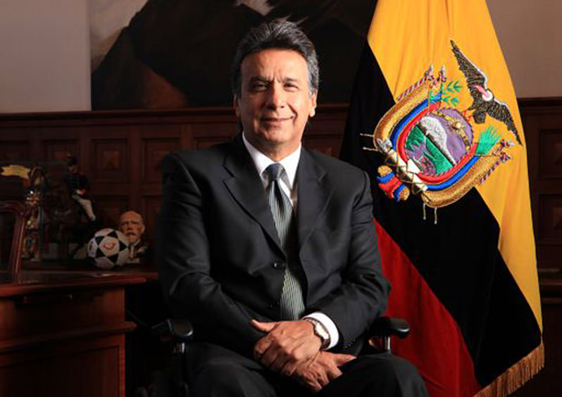 Socialist Lenin Moreno Wins Ecuadorean Presidential Election, Much to Julian Assange's Relief