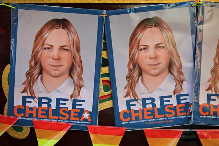 Justice for Chelsea Manning and Edward Snowden
