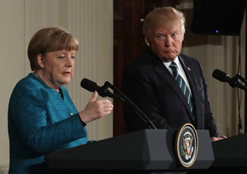 Trump Picks Fights With Germany, U.K., NATO and EU
