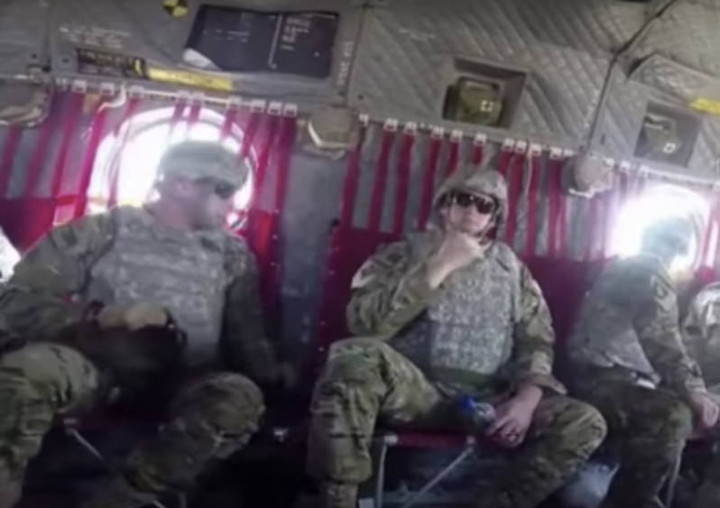The Number of U.S. Troops in Iraq Is Approaching 6,000 (Video)