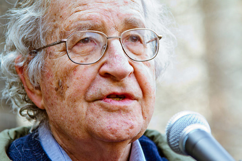 Chomsky: If Trump Falters With Supporters, a 'Staged or Alleged' Terrorist Attack Could Follow