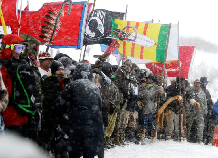Truthdiggers of the Week: The Water Protectors at Standing Rock