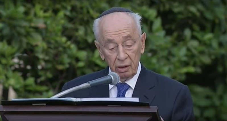 R.I.P., Shimon Peres: The Last Great Israeli Leader to Believe in a Two-State Solution