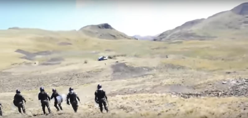 U.S. Mining Company Defends Use of Hired Thugs to Attack Indigenous Farmers in Peru