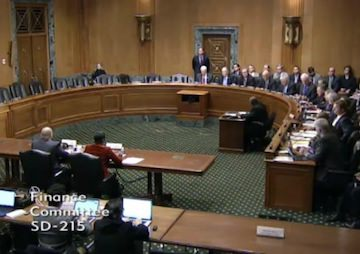 GOP Suspends Rules as Finance Committee Approves Nominees Without Democrats