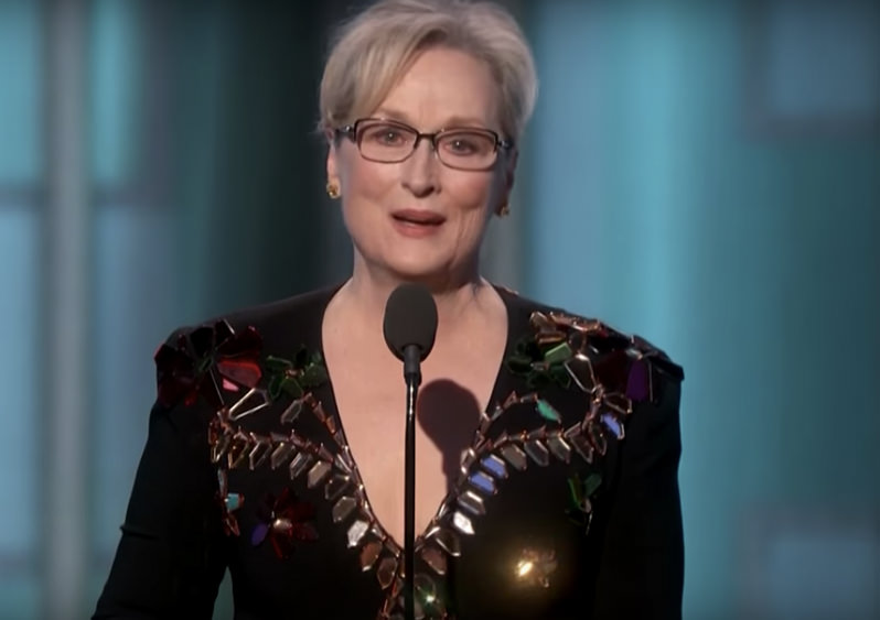 Why Meryl Streep's Golden Globe Speech Is So Important in the Trump Era