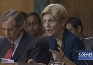 Elizabeth Warren Skewers Wells Fargo CEO, Accusing Him of Greed and 'Gutless Leadership' (Video)