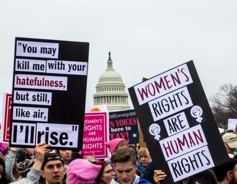 Women's March Speeches From Across the U.S. Go Viral