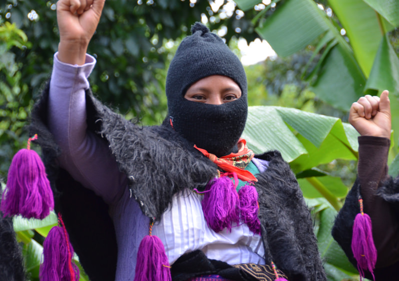 Mexico's Zapatistas to Use Organic Coffee to Give Trump the Middle Finger
