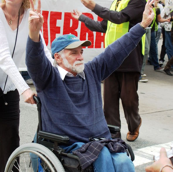 Ron Kovic on the Continuing Struggle of Veterans (Audio and Transcript)