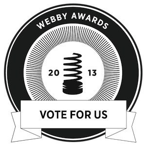 Truthdig Nominated for Two Webby Awards