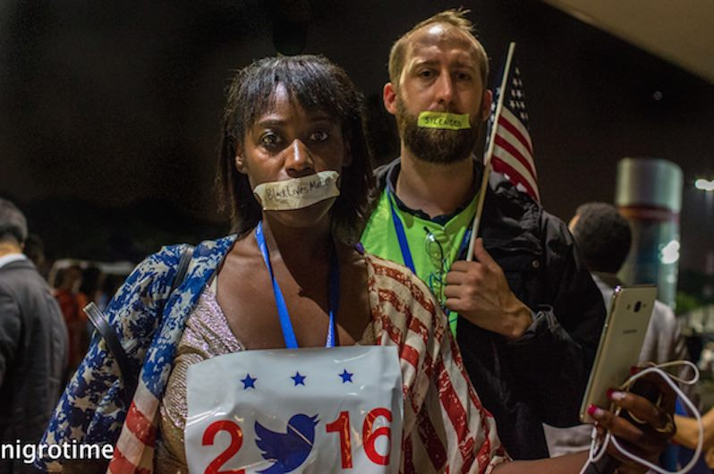 Truthdig at the 2016 Democratic National Convention