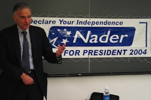 Ralph Nader vs. the FEC