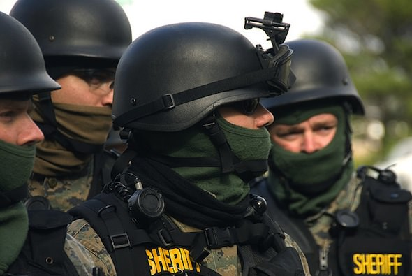 Massachusetts SWAT Teams Claim They're Private Corporations