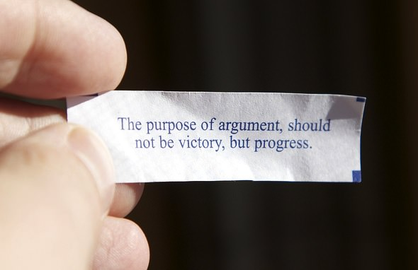 The Purpose of Argument Online