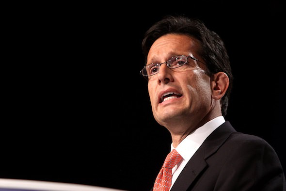 Eric Cantor and 'The Certainty of Conservative Sellout'