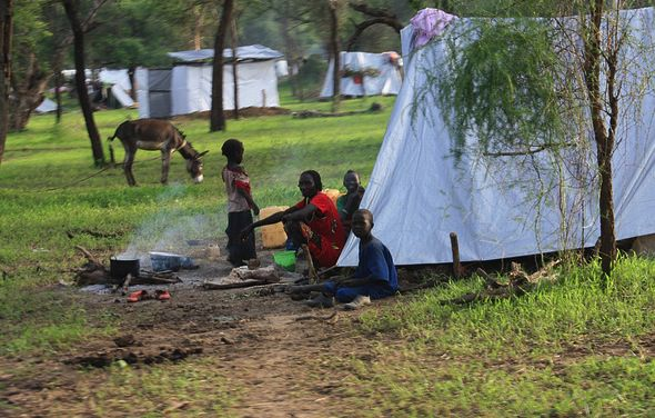 As a Man-Made Famine Looms, Christmas Comes Early to South Sudan